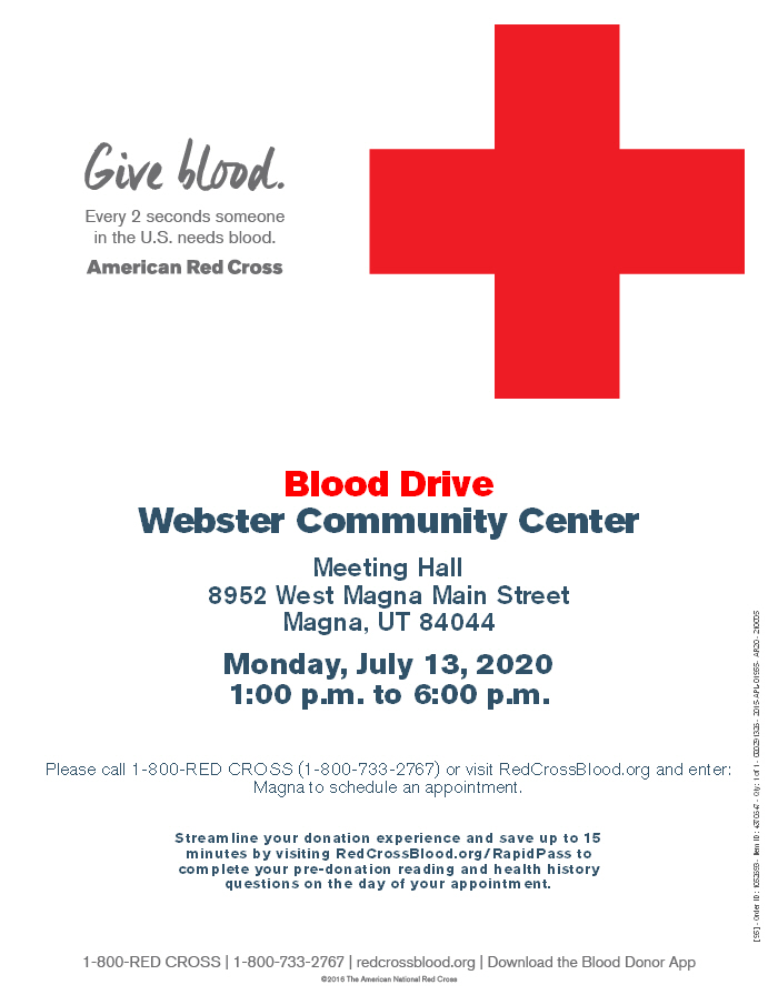 Magna Community Blood Drive
